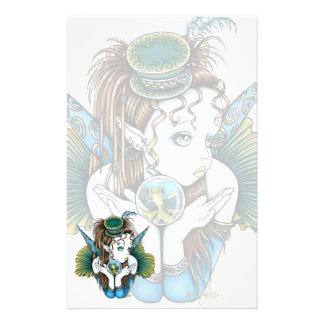 """Brooke"" Pet Fish Couture Fairy Art Stationery"