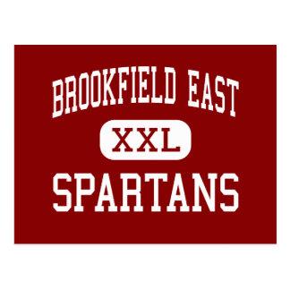 Brookfield East - Spartans - High - Brookfield Postcard