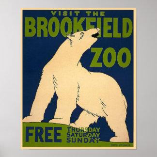 Brookfield-Polar Bear Poster