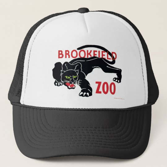 Brookfield Zoo Black Leopard Hat