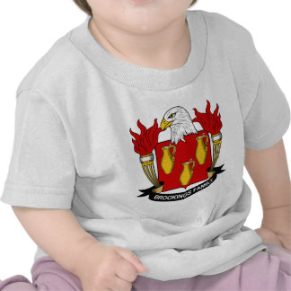 Brookings Family Crest Tshirt