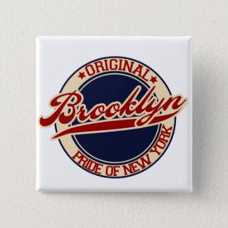 Brooklyn 15 Cm Square Badge