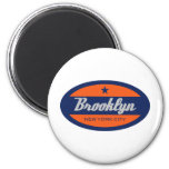 *Brooklyn 6 Cm Round Magnet