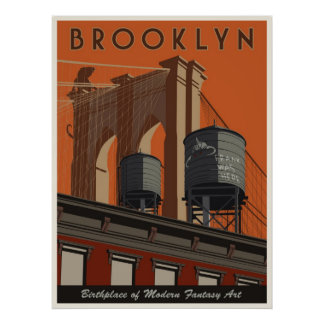 Brooklyn, a tribute poster