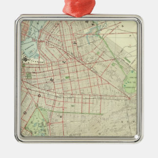Brooklyn and Vicinity Christmas Ornament