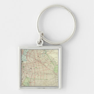Brooklyn and Vicinity Key Ring