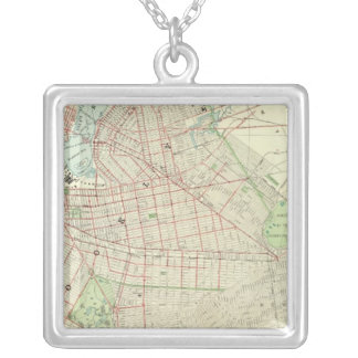 Brooklyn and Vicinity Silver Plated Necklace