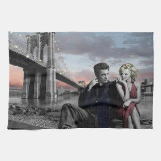 Brooklyn B&W 2 Tea Towel