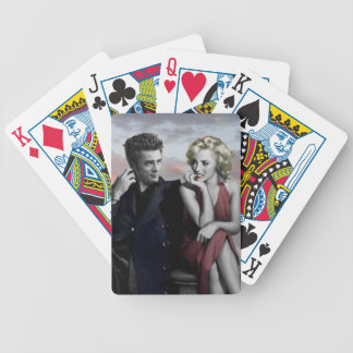 Brooklyn B&W Bicycle Playing Cards
