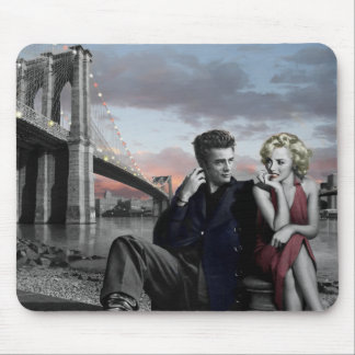 Brooklyn B&W Mouse Mat