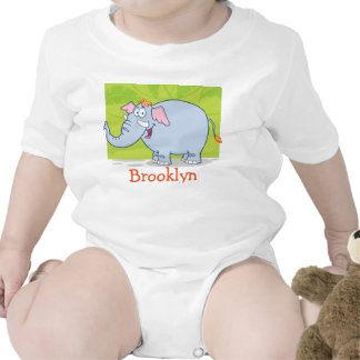 BROOKLYN baby name personalized Bodysuits