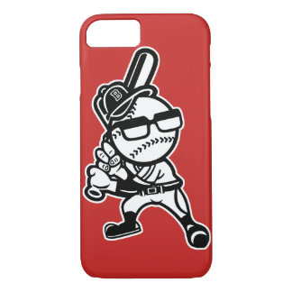 Brooklyn Baseball Glossy Phone Case