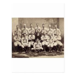 Brooklyn Baseball Team, 1889 Postcards