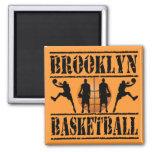 Brooklyn Basketball Refrigerator Magnet