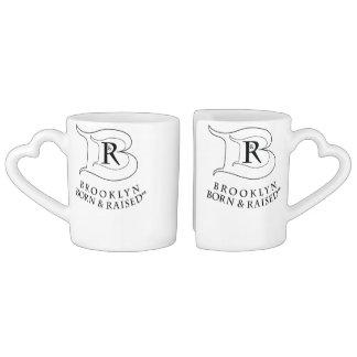 BROOKLYN BORN & RAISED LOGO COFFEE MUG SET