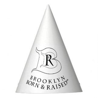 BROOKLYN BORN & RAISED LOGO PARTY HAT