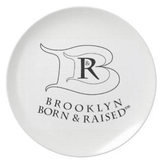 BROOKLYN BORN & RAISED LOGO PLATE