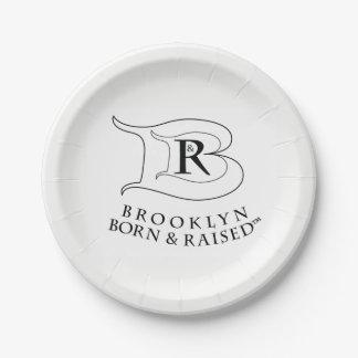 BROOKLYN BORN & RAISED LOGO PLATES