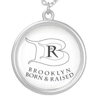 BROOKLYN BORN & RAISED® LOGO ROUND NECKLACE