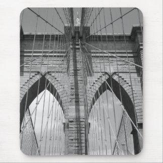 Brooklyn Brdige - B&W Mouse Pad