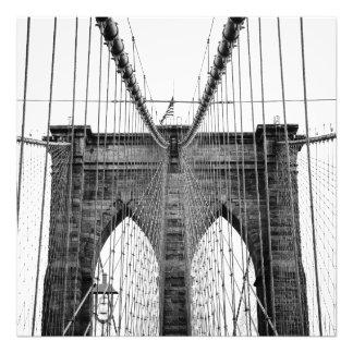 Brooklyn Bridge 02 / Brooklynský most 02 Art Photo