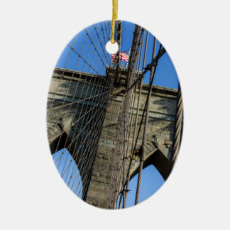 Brooklyn Bridge 02 Christmas Ornament