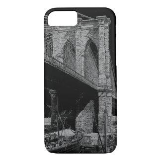 Brooklyn Bridge 1896 waterfront iPhone 7 Case