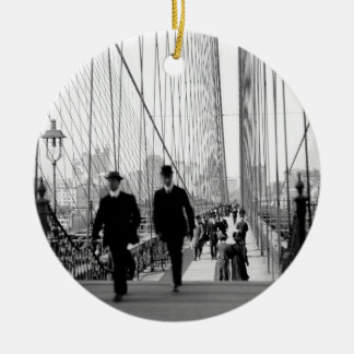 Brooklyn Bridge 1905 Ornament