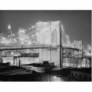 Brooklyn Bridge, 1982 Standing Photo Sculpture