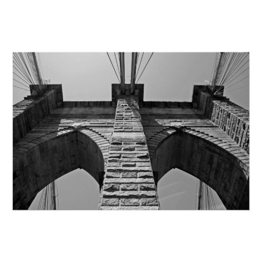 Brooklyn Bridge 2009-06-01-170-A Poster