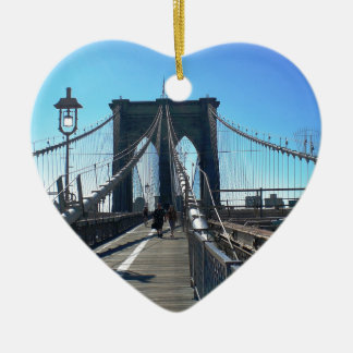 Brooklyn Bridge 2 Christmas Ornament
