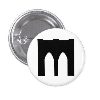 Brooklyn Bridge 3 Cm Round Badge