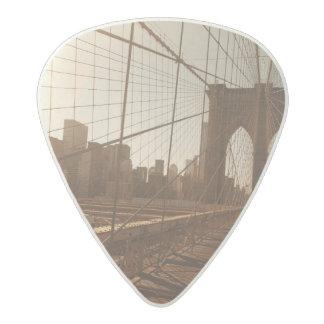 Brooklyn Bridge. Acetal Guitar Pick