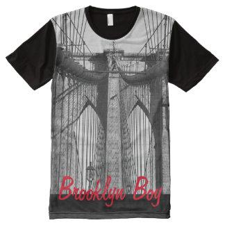 Brooklyn bridge All-Over print T-Shirt