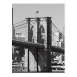 Brooklyn Bridge and Manhattan Skyline Postcards