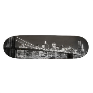 Brooklyn Bridge and Manhattan Skyline Skate Board