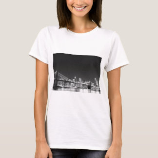 Brooklyn Bridge and Manhattan Skyline T-Shirt