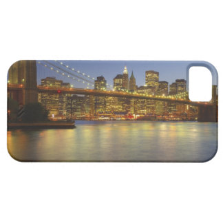 Brooklyn Bridge and New York City buildings Case For The iPhone 5