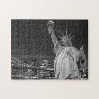 Brooklyn Bridge and The Statue of Liberty Puzzle
