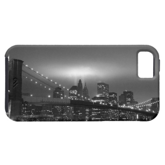 Brooklyn Bridge at Night Case For The iPhone 5