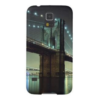 Brooklyn Bridge at night  Manhattan Bridge Case For Galaxy S5