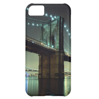 Brooklyn Bridge at night  Manhattan Bridge iPhone 5C Case