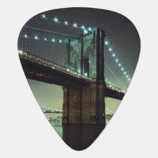 Brooklyn Bridge at night  Manhattan Bridge Plectrum