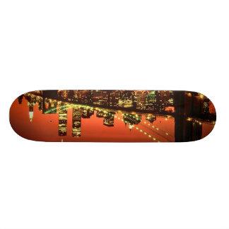 Brooklyn Bridge at Night Skate Boards
