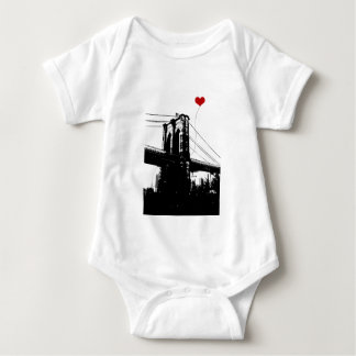 Brooklyn Bridge Baby Bodysuit