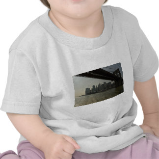 Brooklyn Bridge by boat T Shirt