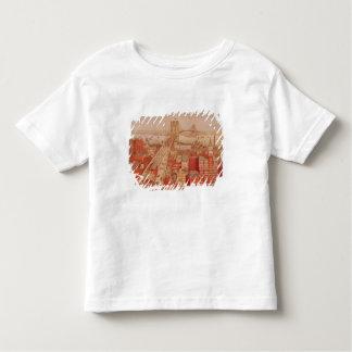 Brooklyn Bridge, c.1883 Toddler T-Shirt