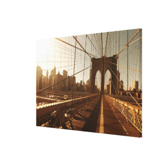 Brooklyn Bridge. Canvas Print