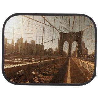 Brooklyn Bridge. Car Mat