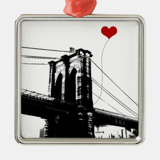 Brooklyn Bridge Christmas Ornament